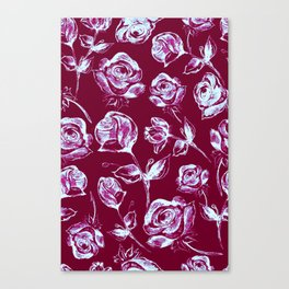 Rose Patches Canvas Print
