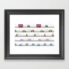 City travel Framed Art Print