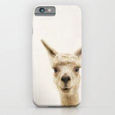 Alpaca Portrait iPhone 6s Slim Case