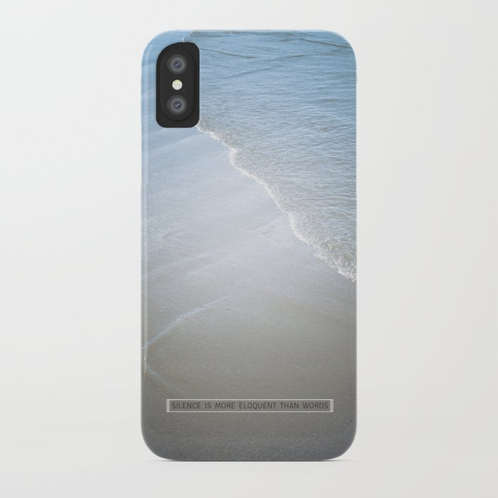 Eloquence iPhone Case