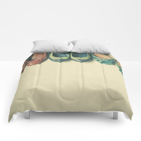 The Shoe Collection Comforters