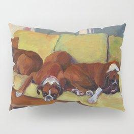Boxer Dog Siesta Pillow Sham