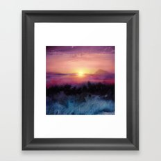 Calling The Sun IV Framed Art Print