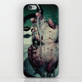 Slipping Through Your Fingers iPhone Skin