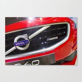 Volvo S60 T6 R-Design Logo Canvas Print