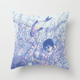 Explore to Discover Throw Pillow