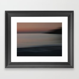 Twilight III Framed Art Print