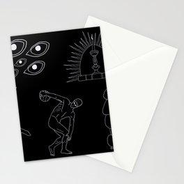 Caniche Parkour Stationery Cards