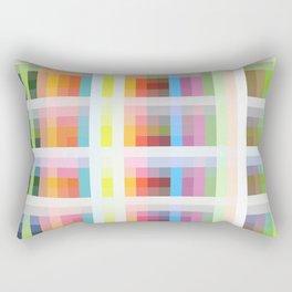 colorful grid Rectangular Pillow