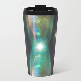 prism of the interdimensional iridescent | space #07 Travel Mug