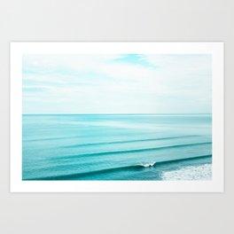 Minimal Beach Art Print