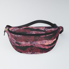 Abstract waves Fanny Pack