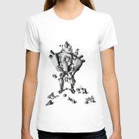 robot T-shirts featuring Robot by Le_Auris