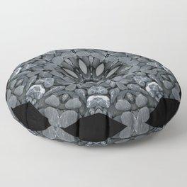 Rock Star Mandala Floor Pillow