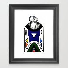 NDEBELE Framed Art Print