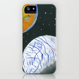 Europa and Io iPhone Case