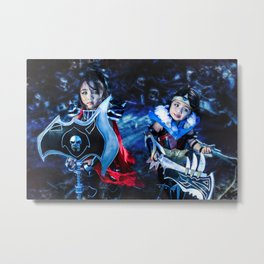 Darius and Draven Metal Print
