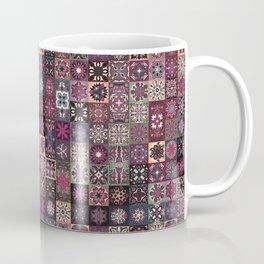 Colorful abstract tile pattern design Coffee Mug