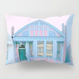 San Francisco Painted Lady Victorian House Pillow Sham