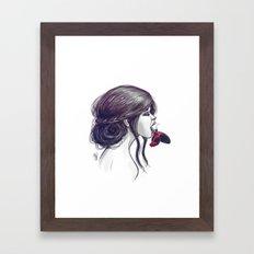 When You Sleep Framed Art Print