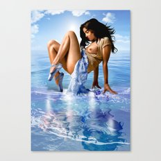 Sea Ballet Canvas Print