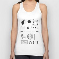 ouat Tank Tops featuring OUAT - A Princess by Redel Bautista
