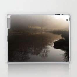 Foggy Morning in the Forest Laptop & iPad Skin