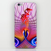 dragon iPhone & iPod Skins featuring Dragon by haroulita