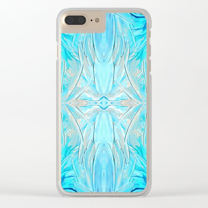 Cool Water Clear iPhone Case