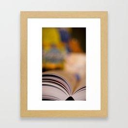 Elemental Baking - Recipe Framed Art Print