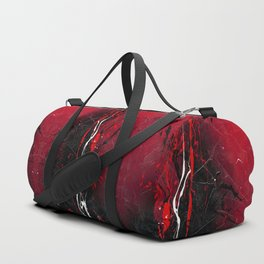 Rising - abstract painting by Rasko Duffle Bag