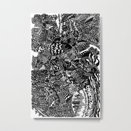 Kasheshe Metal Print