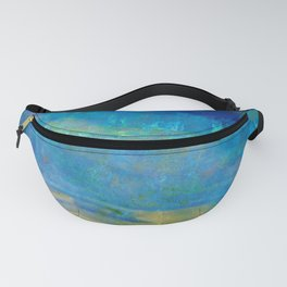 Sunrise Fire Opal Abstract Fanny Pack