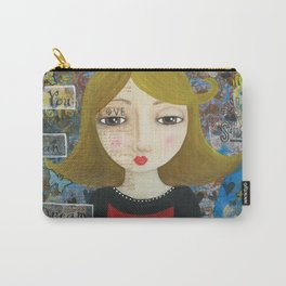 If You Can Dream It, Mixed Media Artwork Carry-All Pouch