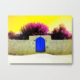 Church Wall Metal Print