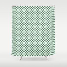 Ivy Polka Dots Shower Curtain