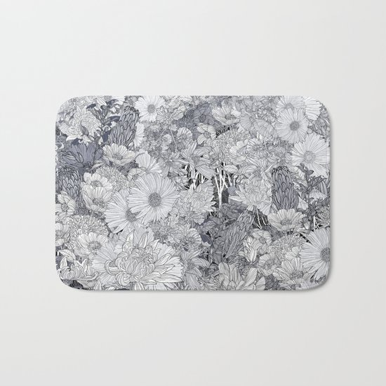 garden gate Bath Mat