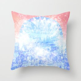 Unemployment - Dead Friends (Record Release Design#1) Throw Pillow