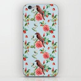 Fall in love. Watercolor iPhone Skin