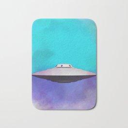 Unidentified Flying Object - UFO Bath Mat