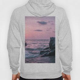 Ocean landscape at sunset Hoody