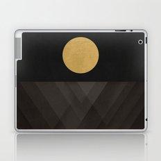 Moon Reflection on Quiet Ocean Laptop & iPad Skin