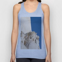 Monument of the Discoveries detail Unisex Tank Top