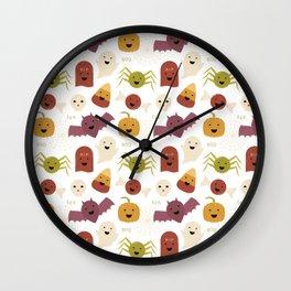 Halloween Characters Wall Clock