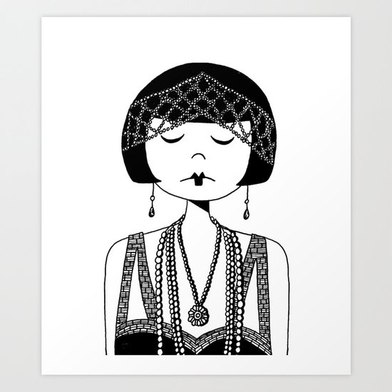 Star of the Silver Screen Art Print