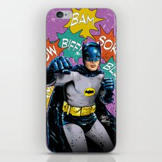 SAME BAT-TIME iPhone Skin