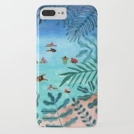 Meet me somewhere in the middle iPhone Case