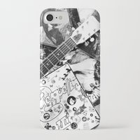 records iPhone & iPod Cases featuring Records by Emily Morris
