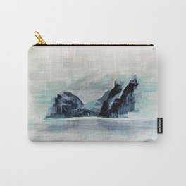 Rectangles - Perspective of Milford Sound Carry-All Pouch