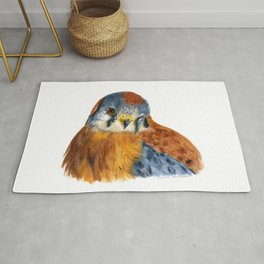 American Kestrel by Teresa Thompson Rug
